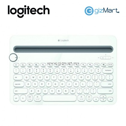 Logitech K480 Bluetooth Multi-Device Keyboard (Black 920-006380 / White 920-006381)