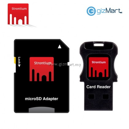 STRONTIUM NITRO MICRO SDXC UHS-1 CARD (85MB/S 566X)-64GB