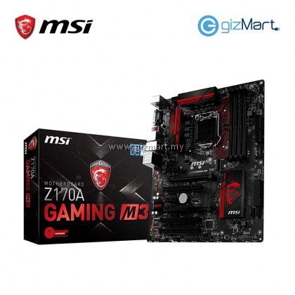 MSI Z170A Gaming M3 Motherboard