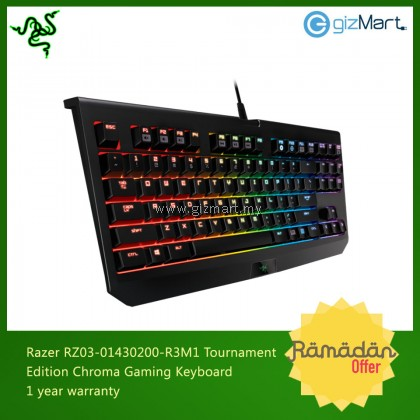 Razer RZ03-01430200-R3M1 Blackwidow Tournament Edition Chroma Gaming Keyboard