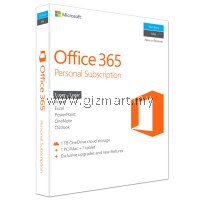 MICROSOFT OFFICE 365 PERSONAL (FOR 1 PC OR MAC)