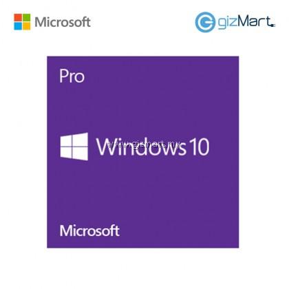 Microsoft Windows 10 Pro 64-bit (FQC-08929)