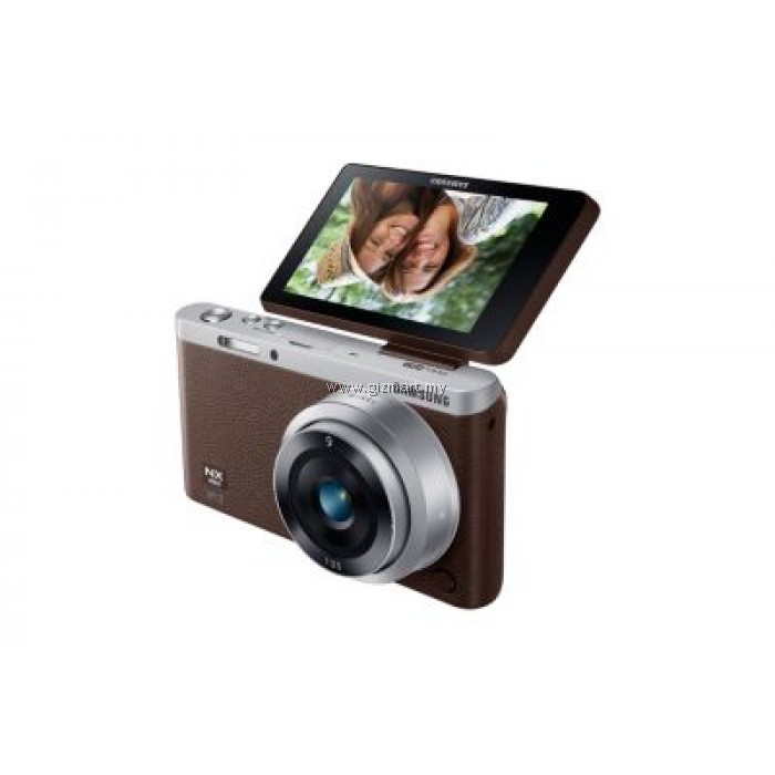 samsung nx mini digital camera brown gizmart my