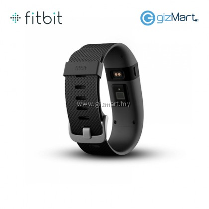 Fitbit Charge Heart Rate + Wireless Activity Wristband Large (Black)