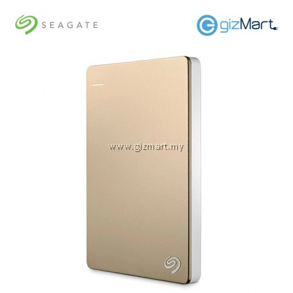 Seagate BackUp Plus Slim 2TB Portable Drive (STDR2000307) (Gold)