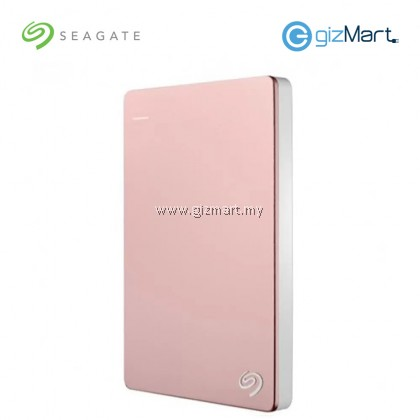 Seagate BackUp Plus Slim 2TB Portable Drive (STDR2000309) (Rose Gold)