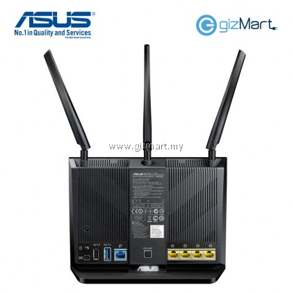 Asus RT-AC68U Dual-band Gigabit Wireless AC1900 Router