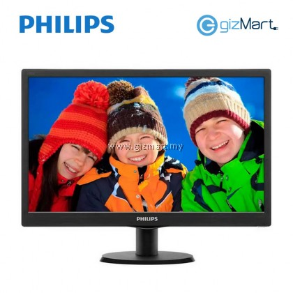 Philips 193V5LSB2 V-Line 18.5 Inch LED Monitor