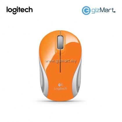 Logitech M187 Wireless Mini Mouse (910-002782) (Orange)