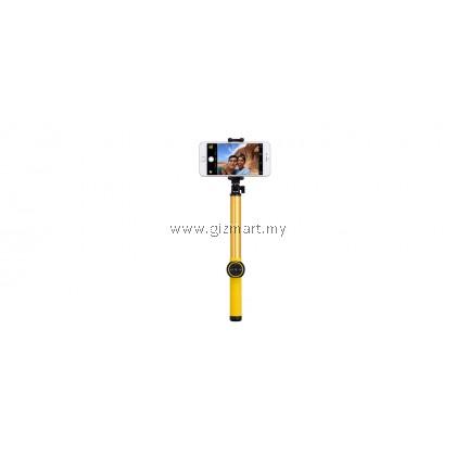 MOMAX KMS8 SELFIE HERO BLUETOOTH SELFIE POD 150CM - YELLOW【FREE Tripod Stand】