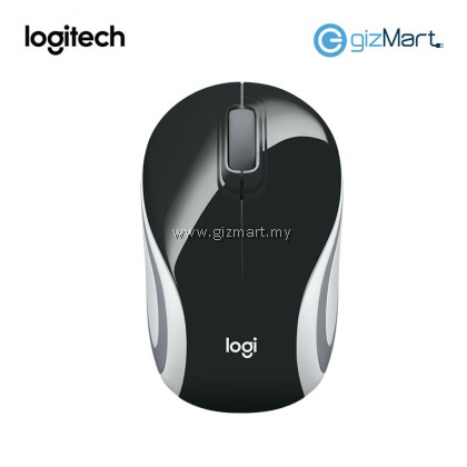Logitech M187 Wireless Mini Mouse (910-005371) (Black)