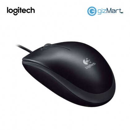 Logitech M100R USB Mouse (910-005005) (Black)