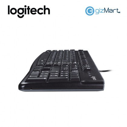 LOGITECH K120 KEYBOARD (920-002582) (BLACK)