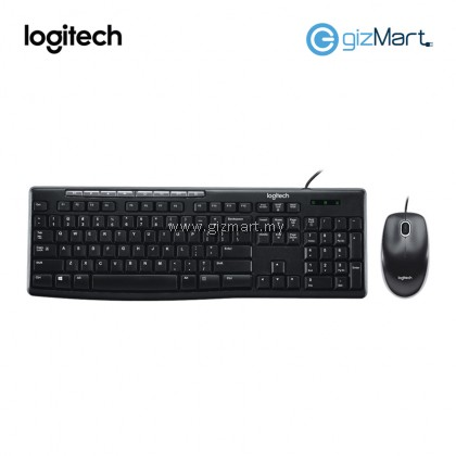Logitech MK200 Keyboard and Mouse Media Combo