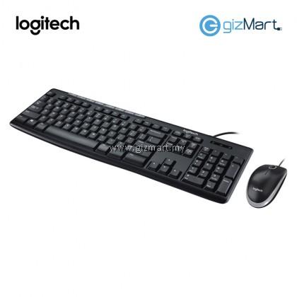 Logitech MK200 Media Combo Keyboard + Mouse 920-002693