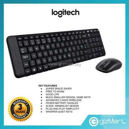 Logitech MK220 Wireless Keyboard & Mouse (920-003235)