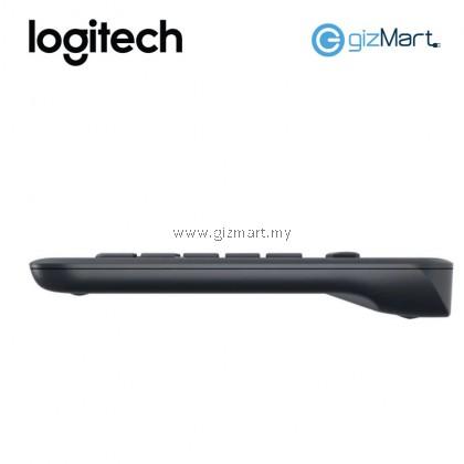 LOGITECH K400 PLUS WIRELESS TOUCH KEYBOARD (920-007165) (BLACK)