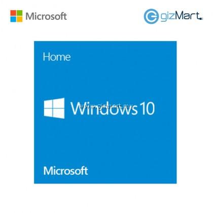 Microsoft Windows 10 Home 64-bit (KW9-00139)
