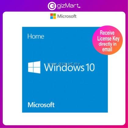 Genuine Microsoft Windows 10 Home 64-bit - OEM Pack (KW9-00139) License Key Only
