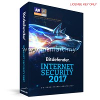 Bitdefender Internet Security  - 1 User [LICENSE KEY ONLY]