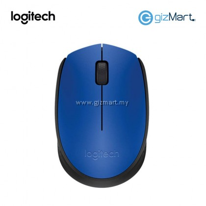 Logitech M171 Wireless Mouse-Blue Black