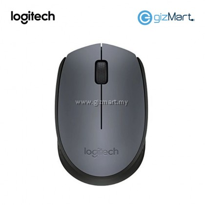 Logitech M171 Wireless Mouse-Black Grey