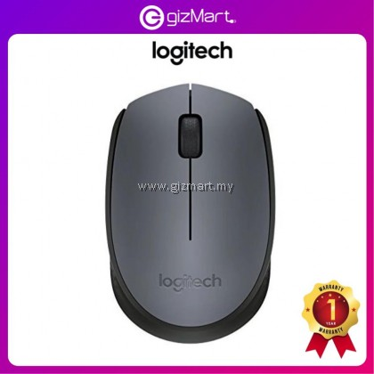 Logitech M171 Wireless Mouse - Grey (910-004655)