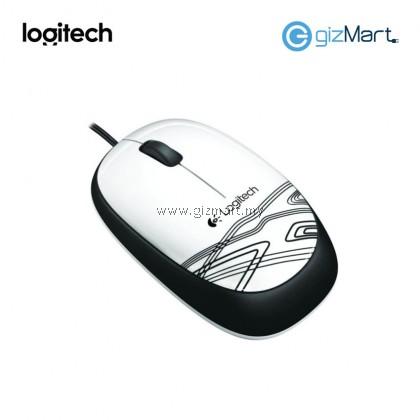 Logitech M105 Mouse (910-002932) (White)
