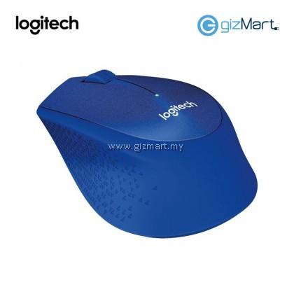 Logitech M331 Silent Plus Wireless Mouse (Black 910-004914 / Blue 910-004915 / Red 910-004916)