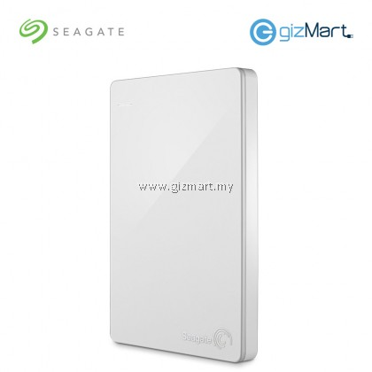 Seagate Backup Plus Slim 1TB Portable Drive (STDR1000307) (White)