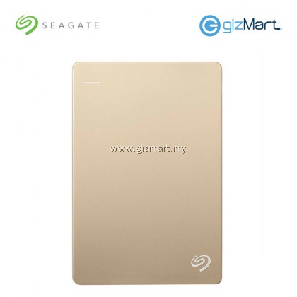 Seagate Backup Plus Slim 1TB Portable Drive (STDR1000309) (Gold)