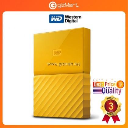 "Western Digital My Passport 2.5"" 2TB External Hard Disk ( Yellow WDBS4B0020BYL-WESN )"