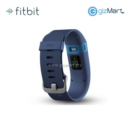 Fitbit Charge 2 Heart Rate Fitness Wristband Blue - Large (FB407SBUL)