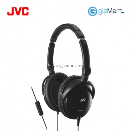 JVC HA-SR625 Portable Over Ear Headphone With Mic & Remote (Black)