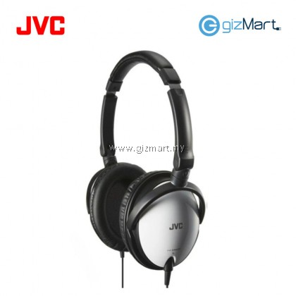 JVC HA-SR625 Portable Over Ear Headphone With Mic & Remote (White)
