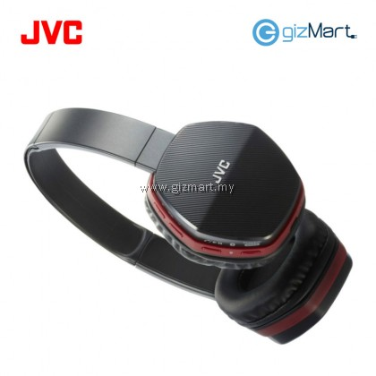 JVC HA-SBT5 Wireless Bluetooth On Ear Headphone With Mic & Remote (Red)