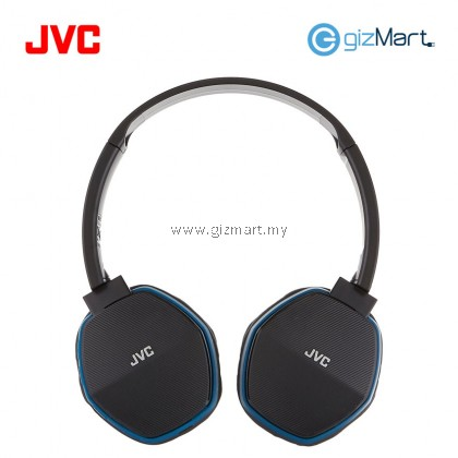 JVC HA-SBT5 Wireless Bluetooth On Ear Headphone With Mic & Remote (Blue)