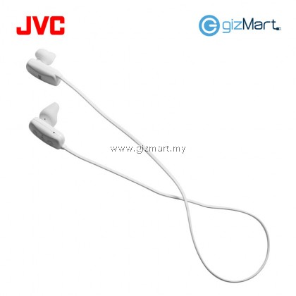 JVC HA-F250BT Sport Bluetooth In Ear Earphone (White)