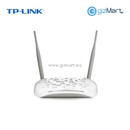 TP Link TD-W8961N 300Mbps Wireless N ADSL2+ WiFi Modem Router For Streamyx