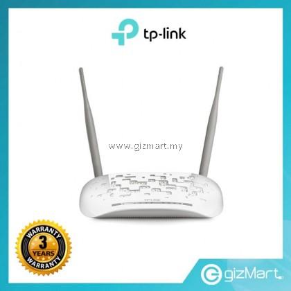 TP Link TD-W8961N 300Mbps Wireless N ADSL2+ WiFi Modem Router For Streamyx