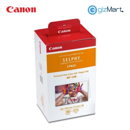 Canon RP-108 Selphy CP Ink & Paper Set