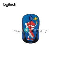 Logitech M238 Doodle Collection Wireless Mouse (Sneakerhead)