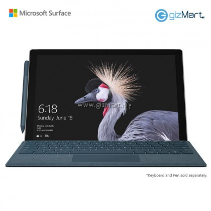 Microsoft Surface Pro 5 - 256GB / Intel Core i5 - 8GB RAM + Type Cover (Cobalt Blue) + FREE Powerbank