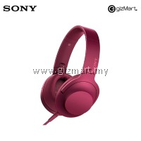 Sony MDR-100AAP 'Hi-Res Audio' Over-Ear Headphones (PINK)