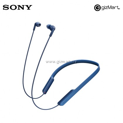 Sony MDR-XB70BT Extra Bass Bluetooth Wrap Around In-Ear Sports Headphones (Blue)