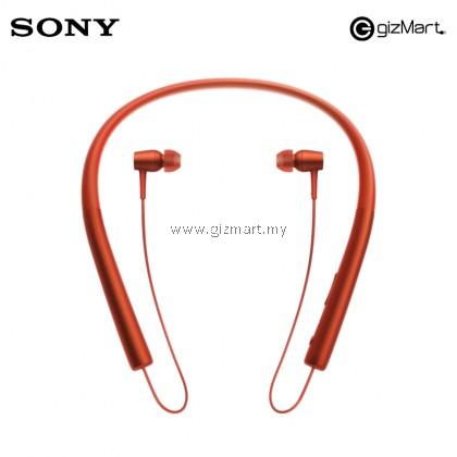 Sony MDR-EX750BT Hear In Wireless Headphones Microphone (Red)