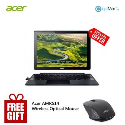 """Acer Switch 5 SW512-52-55XC 12"""" Laptop - Black (i5-7200U, 8GB, 256GB, W10H) + Free Acer Wireless Mouse"""