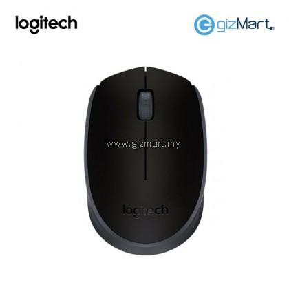 Logitech M170 Wireless Mouse-Grey (910-004658)