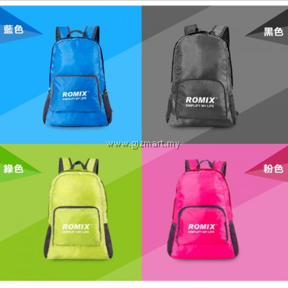 Romix RH27 Waterproof Foldable Backpack For Travel, Camping, Hiking
