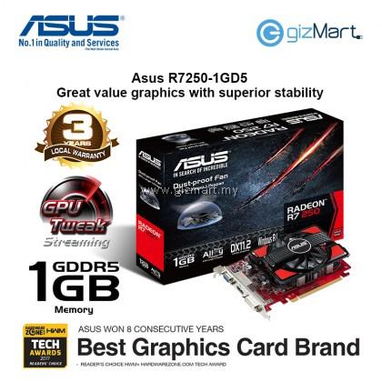 ASUS Radeon R7250 1GDS Graphics Card